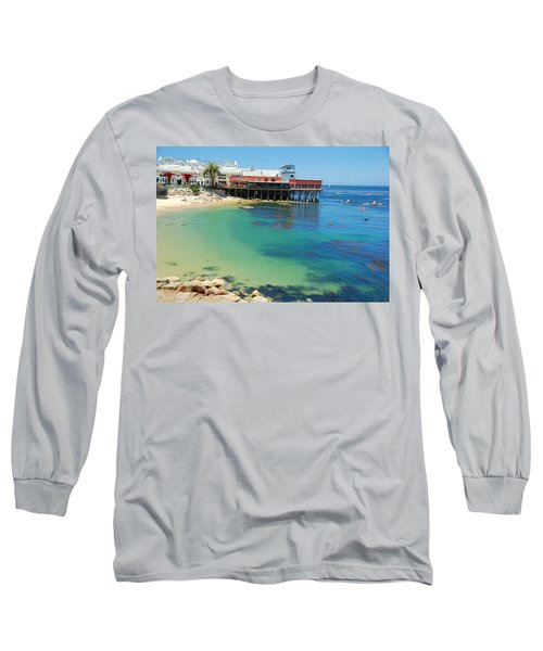 Waterfront At Cannery Row Long Sleeve T-Shirt