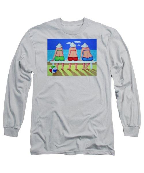 Wave Watch - Beach Long Sleeve T-Shirt