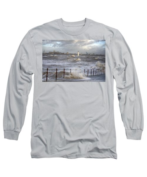 Waves On The Slipway Long Sleeve T-Shirt