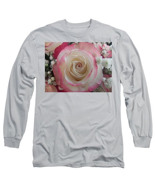 Long Sleeve T-Shirt featuring the photograph Wedding Bouquet by Deb Halloran