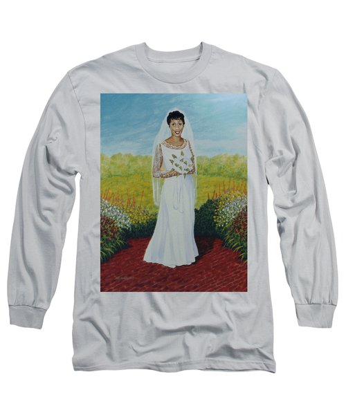 Wedding Day Long Sleeve T-Shirt by Stacy C Bottoms