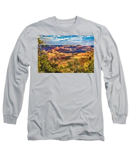 West Rim Grand Canyon National Park Long Sleeve T-Shirt