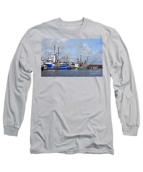 Westport Fishing Boats 2 Long Sleeve T-Shirt