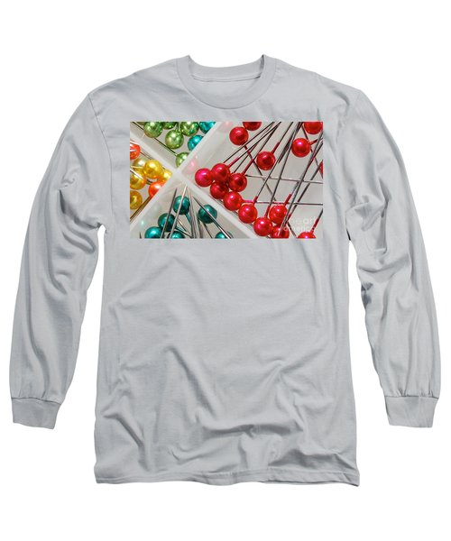 What A Buncha Pinheads Long Sleeve T-Shirt by Margie Chapman