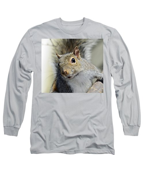 Where Are The Nuts Long Sleeve T-Shirt