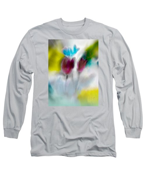 Long Sleeve T-Shirt featuring the digital art Whisper by Frank Bright
