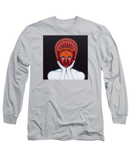 White Goddess Long Sleeve T-Shirt