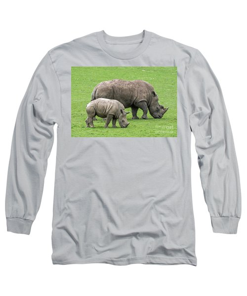 White Rhino 8 Long Sleeve T-Shirt
