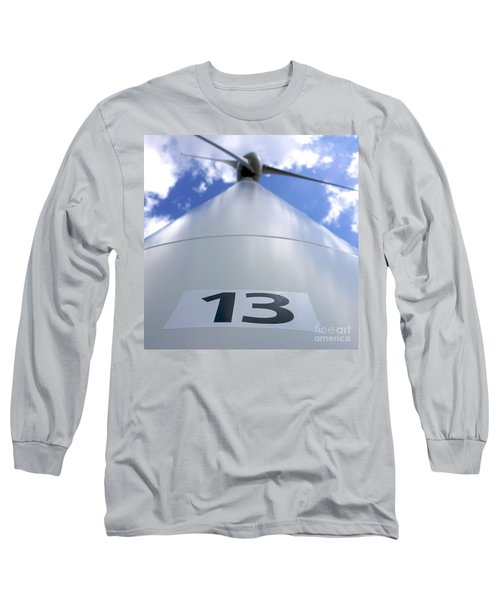 Wind Turbine. No 13 Long Sleeve T-Shirt