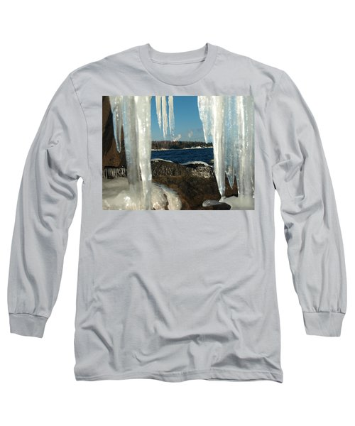 Long Sleeve T-Shirt featuring the photograph Window Into Minnesota by James Peterson