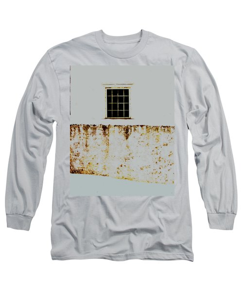 Window Wall And Snow Long Sleeve T-Shirt