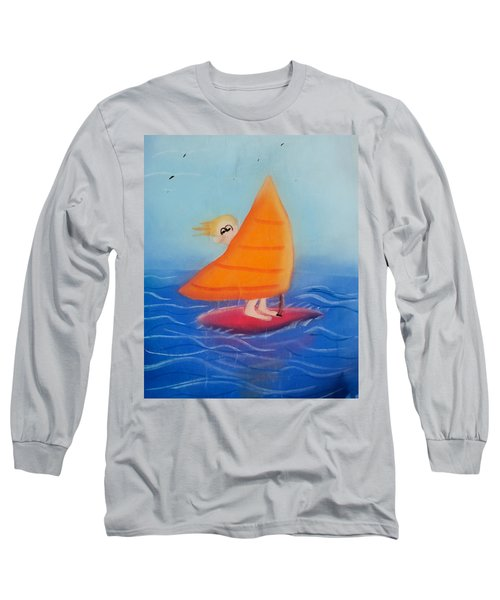 Windsurfer Dude Long Sleeve T-Shirt