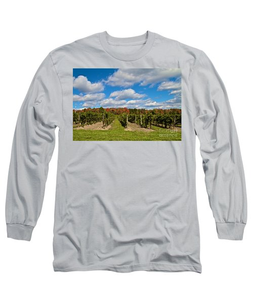 Wine In Waiting Long Sleeve T-Shirt