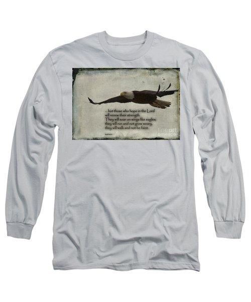 Wings Like Eagles Long Sleeve T-Shirt
