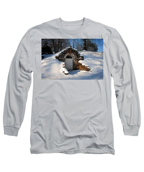 Winter Hobbit Hole Long Sleeve T-Shirt