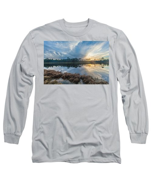 Winter Reflection-1 Long Sleeve T-Shirt