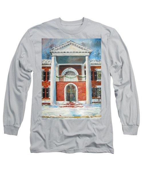 Winter Spirit In Dahlonega Long Sleeve T-Shirt