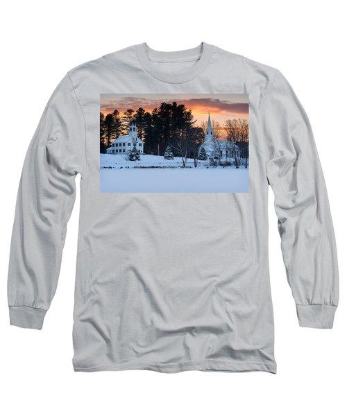 Winter Sunset Long Sleeve T-Shirt