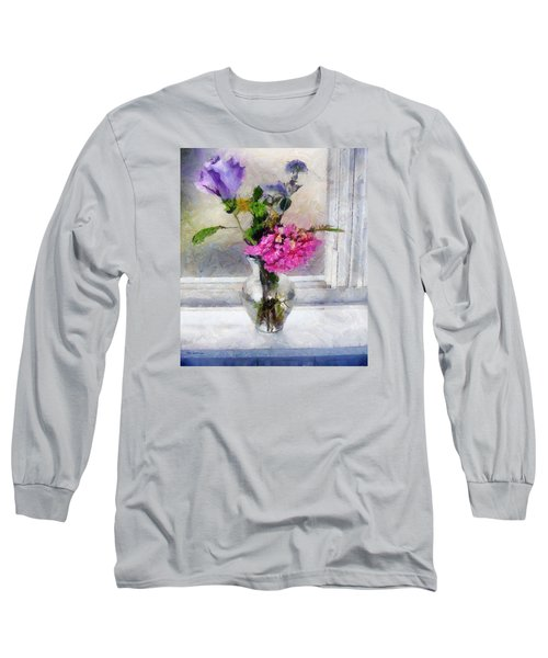 Winter Windowsill Long Sleeve T-Shirt