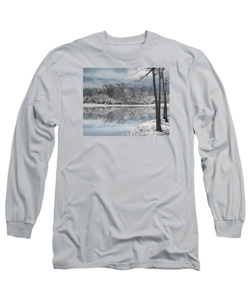 Winters Delight 6 Long Sleeve T-Shirt by Cedric Hampton