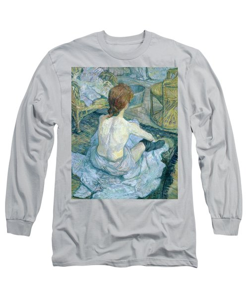 Woman At Her Toilet, 1896  Long Sleeve T-Shirt