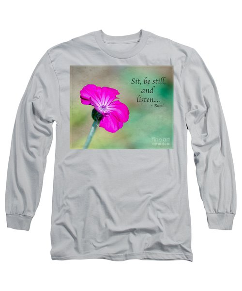 Words From Rumi Long Sleeve T-Shirt