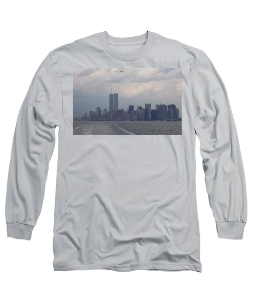 World Trade Center May 2001 Long Sleeve T-Shirt by Kenneth Cole