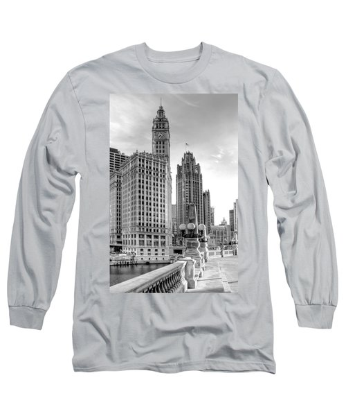 Wrigley And Tribune Long Sleeve T-Shirt