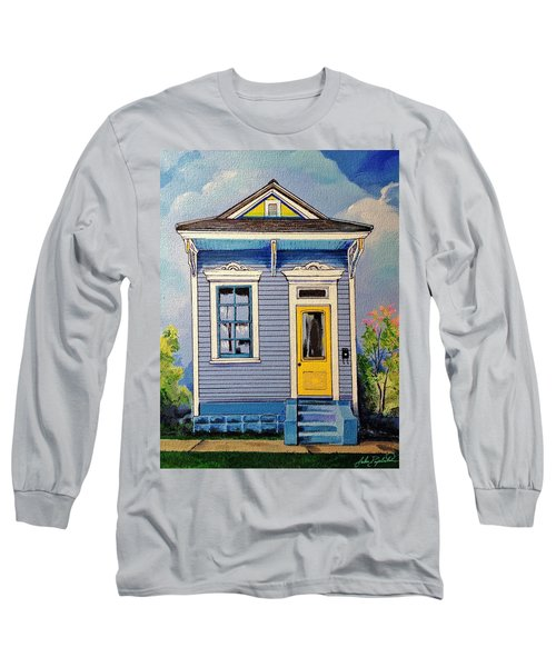 Yellow Door Shotgun  Long Sleeve T-Shirt