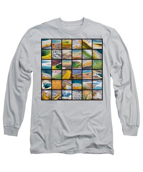 Yellowstone Colors Long Sleeve T-Shirt