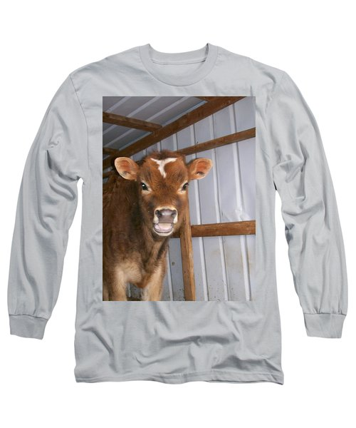 Long Sleeve T-Shirt featuring the photograph Yes I'm Talking To You by Sara  Raber