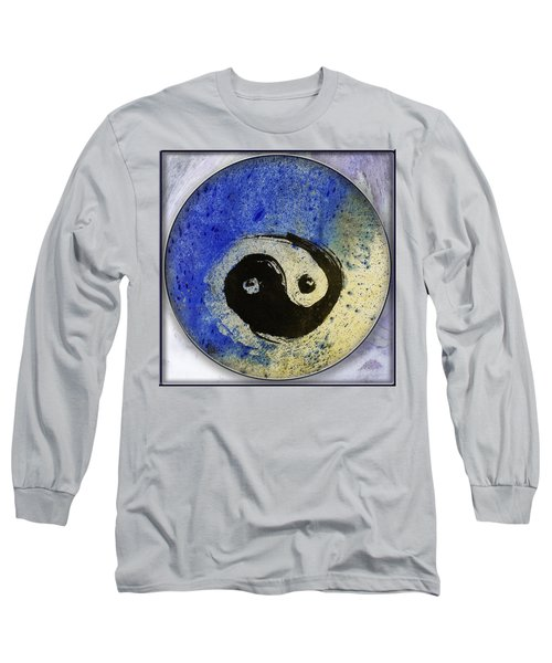 Yin Yang Painting Long Sleeve T-Shirt