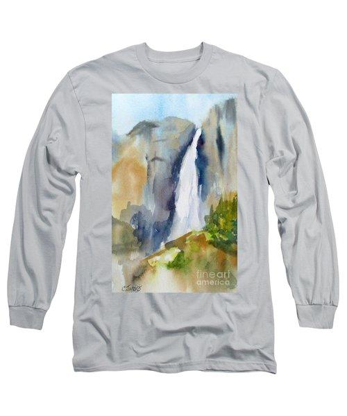 Yosemite Falls Springtime Long Sleeve T-Shirt