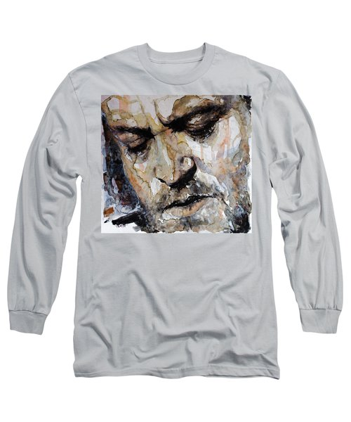 Long Sleeve T-Shirt featuring the painting You Are So Beautiful by Laur Iduc