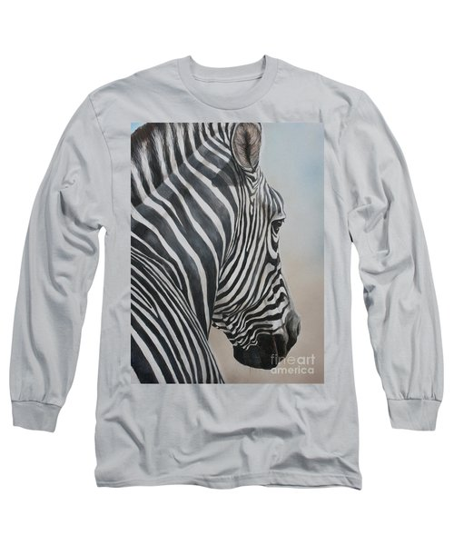 Zebra Look Long Sleeve T-Shirt