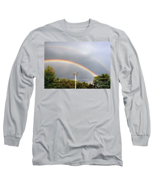 Double Rainbow Long Sleeve T-Shirt