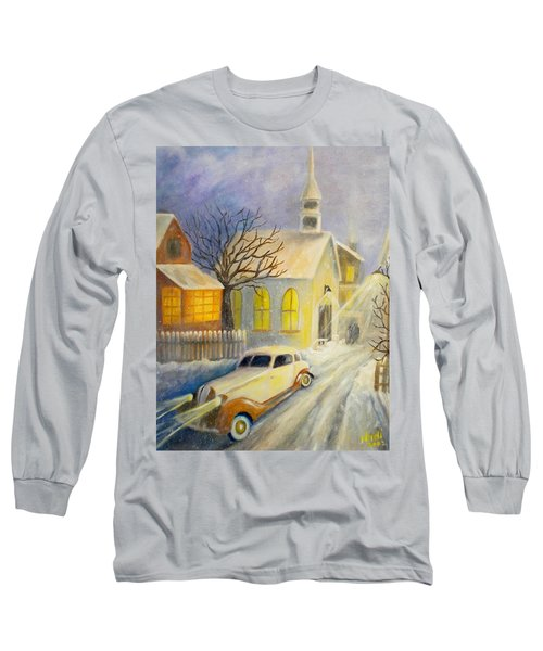 Going Home Long Sleeve T-Shirt by Renate Nadi Wesley