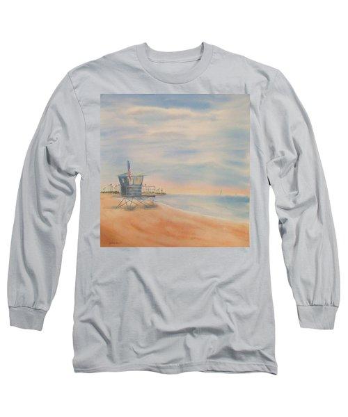 Morning By The Beach Long Sleeve T-Shirt