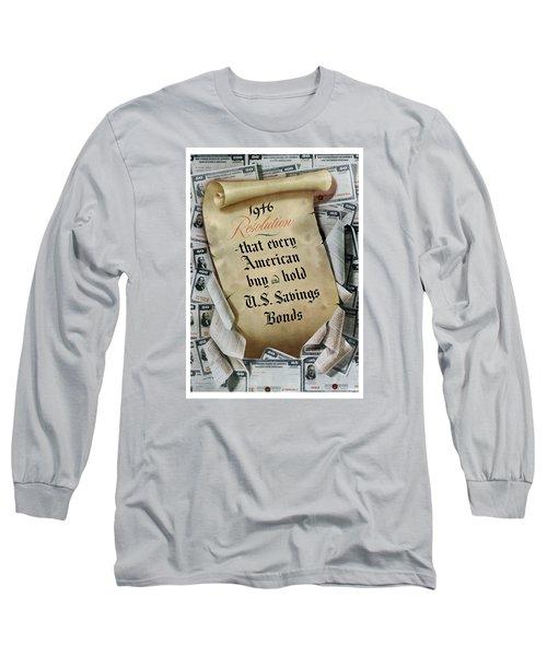 1946 Resolution  Long Sleeve T-Shirt