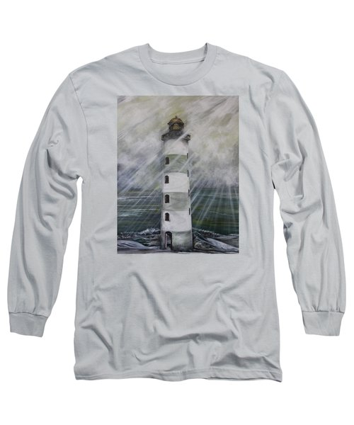 Point Lookout Lighthouse Long Sleeve T-Shirt