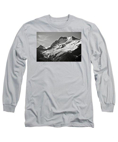 A Glacier In Jasper National Park Long Sleeve T-Shirt by RicardMN Photography