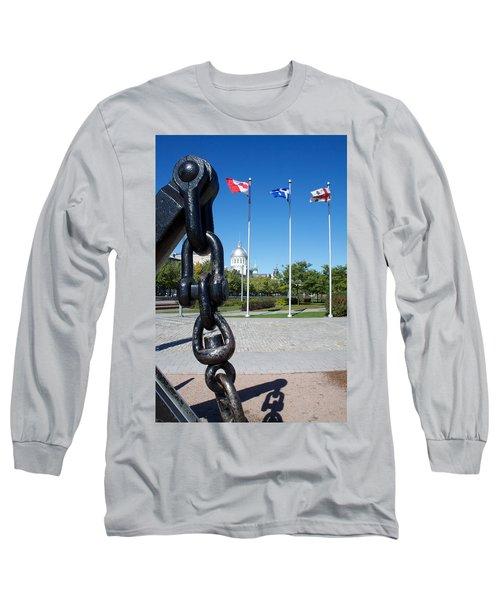 A Mari Usque Ad Mare Long Sleeve T-Shirt
