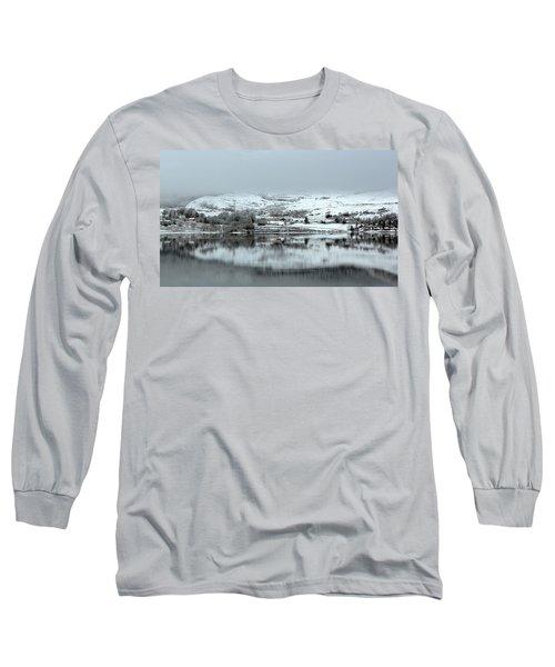 Long Sleeve T-Shirt featuring the photograph A Winter's Scene by Lynn Bolt