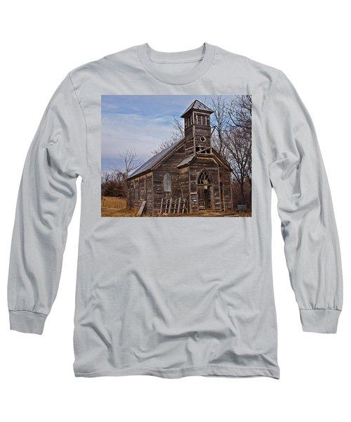 Abandoned Church Long Sleeve T-Shirt