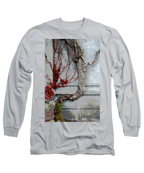 Long Sleeve T-Shirt featuring the photograph Adare Ivy by Charlie and Norma Brock