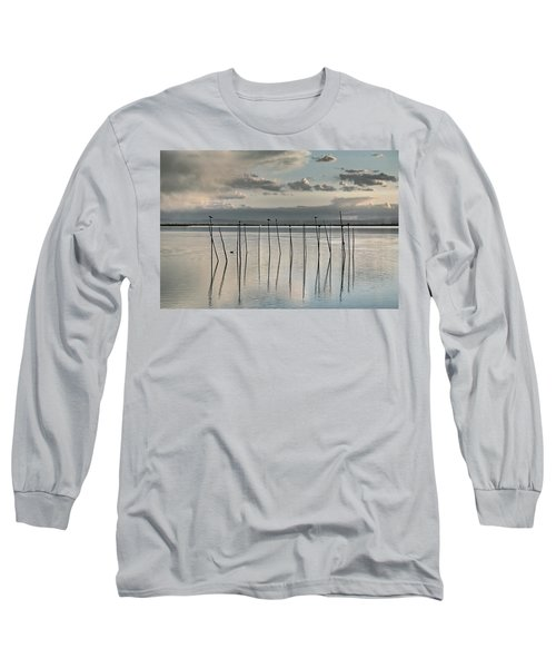 Albufera Gris. Valencia. Spain Long Sleeve T-Shirt
