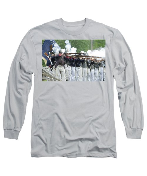 American Firing Line Long Sleeve T-Shirt by JT Lewis