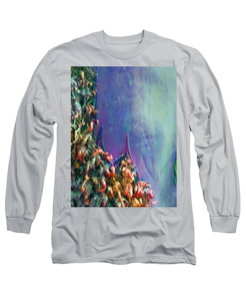 Long Sleeve T-Shirt featuring the digital art Ancesters by Richard Laeton