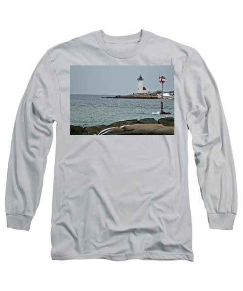 Annisquam Lighthouse Long Sleeve T-Shirt