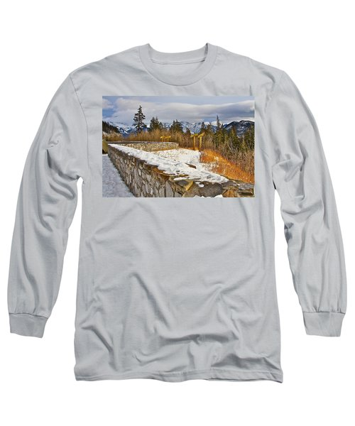 Banff Scene Long Sleeve T-Shirt by Johanna Bruwer